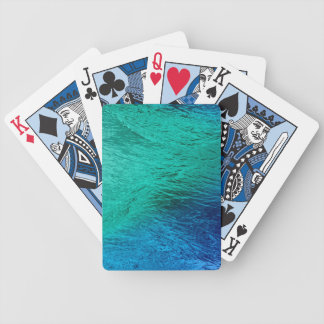 Ocean Sea Water Digital Art Playing Cards