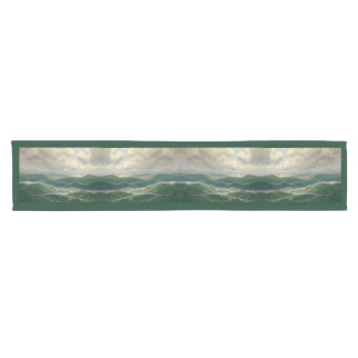 Ocean Sea Waves Seagull Bird Wildlife Table Runner