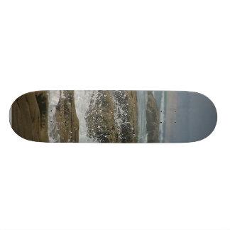Ocean Seagulls Waves Beaches Coast Skateboard Deck