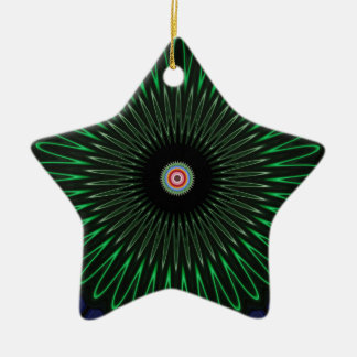 Ocean space christmas ornament