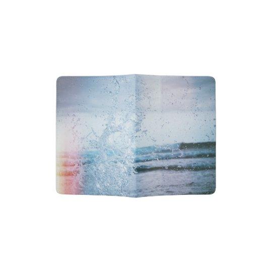 OCEAN SPLASH PASSPORT HOLDER