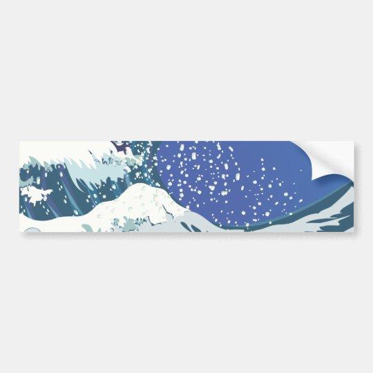 Ocean Spray Bumper Sticker