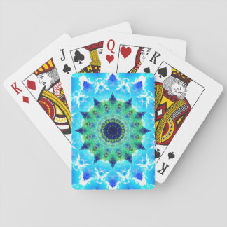 Ocean Star Waves Mandala Poker Deck