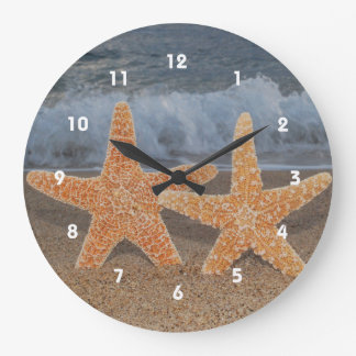 Ocean Starfish Clock
