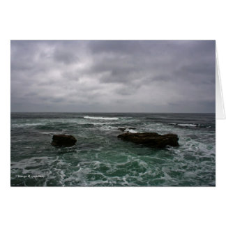 Ocean Storm Greeting Card