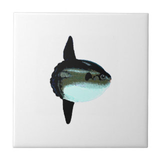Ocean Sunfish - Mola Mola Small Square Tile