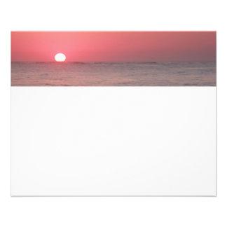 Ocean Sunrise 11.5 Cm X 14 Cm Flyer