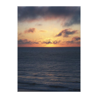 Ocean Sunrise II Canvas Print