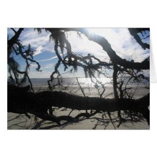 Ocean Sunset Card