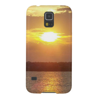 Ocean sunset galaxy case galaxy s5 cases