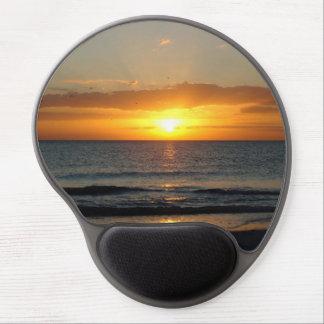 OCEAN SUNSET LANDSCAPE IS GOLDEN DELICIOUS SHORE S GEL MOUSE PAD