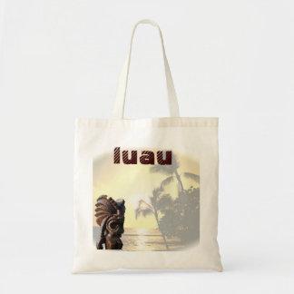Ocean Sunset Luau Budget Tote Bag