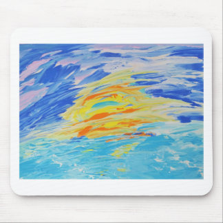 Ocean Sunset Mouse Pad