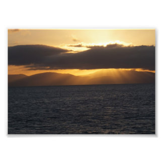Ocean Sunset Photo Print