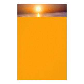 Ocean Sunset Stationery