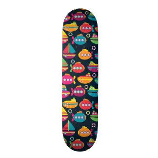 Ocean Transportation Pattern Skateboards
