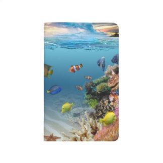 Ocean Underwater Coral Reef Tropical Fish Journal