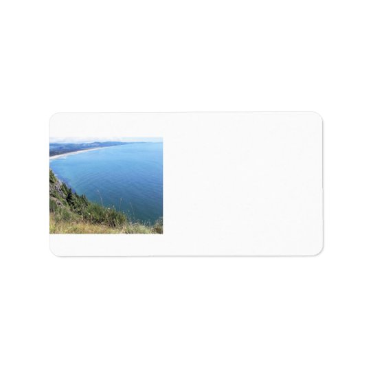 Ocean View on the Oregon Coast Address Label