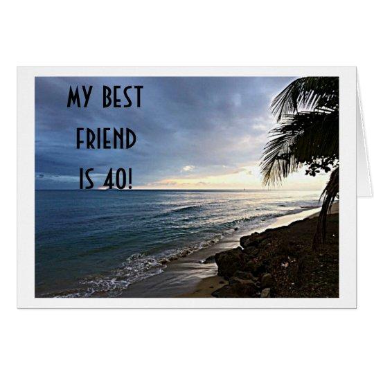 """OCEAN VIEW SAYS MY BEST FRIEND IS """"40"""""""