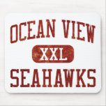 Ocean View Seahawks Athletics Mouse Pad