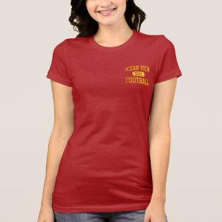 Ocean View Seahawks Football Tee Shirt
