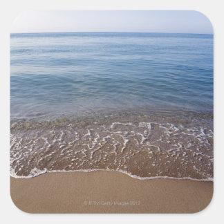 Ocean View Square Sticker