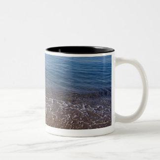 Ocean View Two-Tone Coffee Mug