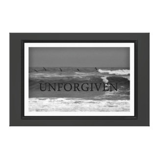 Ocean view Unforgiven Gallery Wrapped Canvas