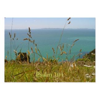 Ocean Vista - Psalm 104 Tract Cards / Business Card