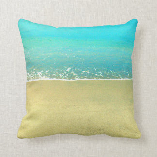 Ocean Wave Beach Sand Pillow
