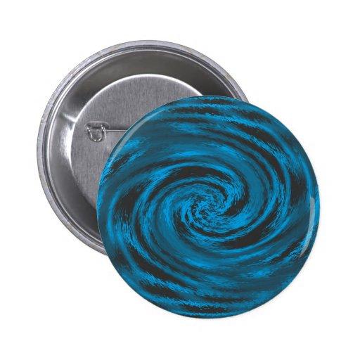 Ocean Wave Button Pinback Button
