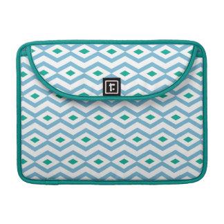 Ocean Wave Diamond Zigzag MacBook Sleeve Sleeve For MacBook Pro