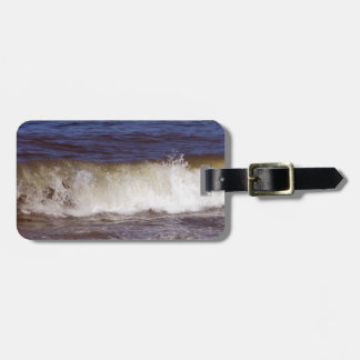 Ocean Wave Luggage Tag
