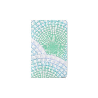Ocean Waves Abstract Notebook
