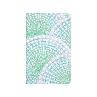 Ocean Waves Abstract Pocket Journal