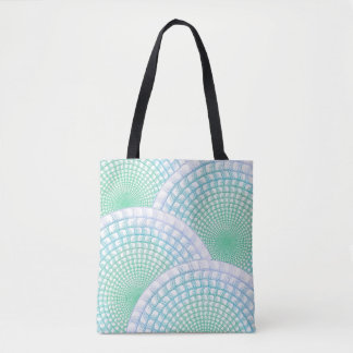 Ocean Waves Abstract Tote
