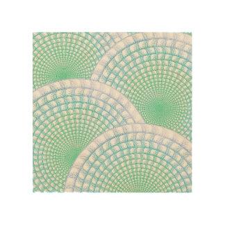 Ocean Waves Abstract Wood Print