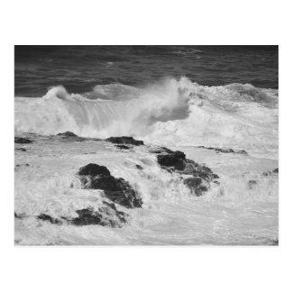 Ocean Waves at Kilauea Postcard