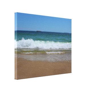 Ocean Waves at Sand Beach II Canvas Print