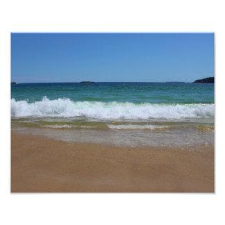 Ocean Waves at Sand Beach II Photo Art