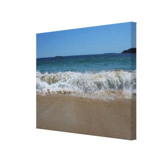 Ocean Waves at Sand Beach III Canvas Print