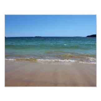 Ocean Waves at Sand Beach Photo