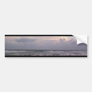 Ocean Waves Car Bumper Sticker