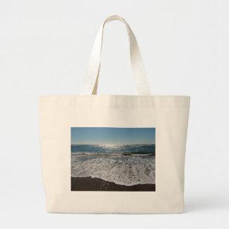 Ocean Waves Jumbo Tote Bag