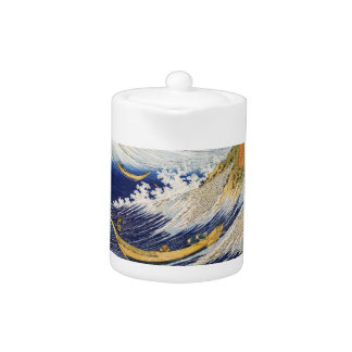 Ocean Waves Katsushika Hokusai masterpiece art