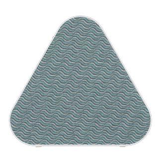 Ocean Waves Linen Look