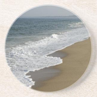 Ocean Waves on the Beach Coaster