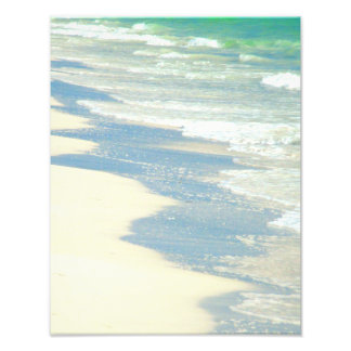 Ocean Waves on the Beach Photo