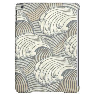 Ocean Waves Pattern Ancient Japan Art iPad Air Cases