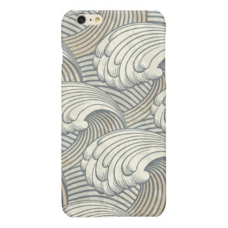 Ocean Waves Pattern Ancient Japan Art iPhone 6 Plus Case